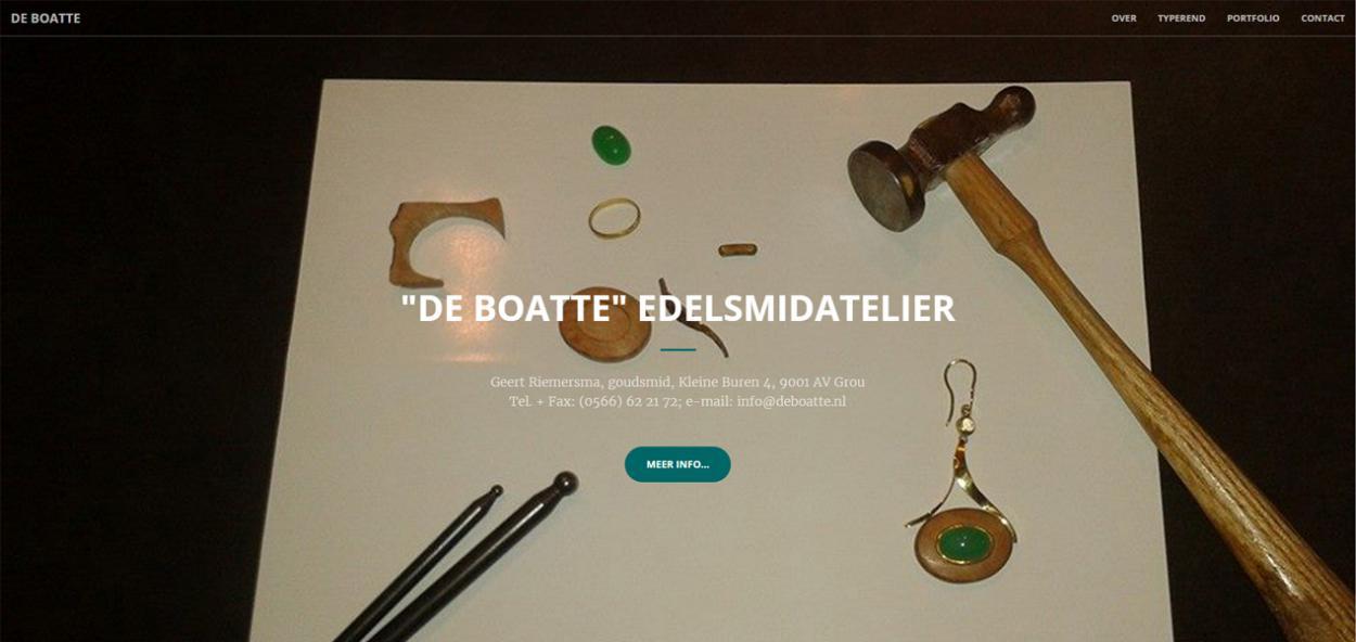 Edelsmidatelier 'De Boatte'
